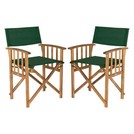 Safavieh Laguna Outdoor Director Chair Multiple Colors Set Of 2
