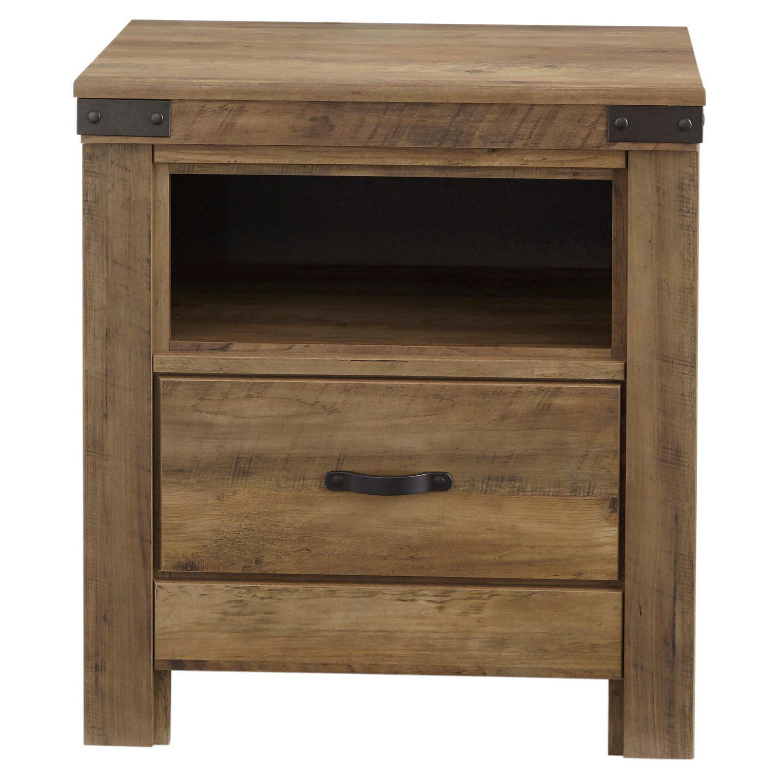 Standard Furniture Warren Youth 1 Drawer Nightstand - Golden Pine