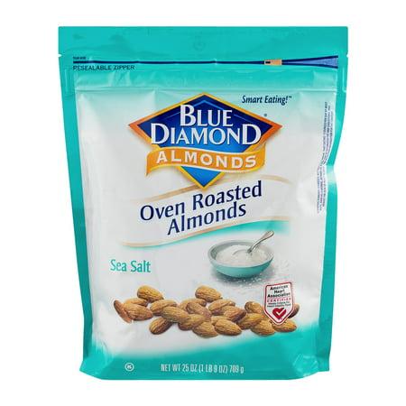 Blue Diamond Oven Roasted Almonds Sea Salt  25 0 Oz