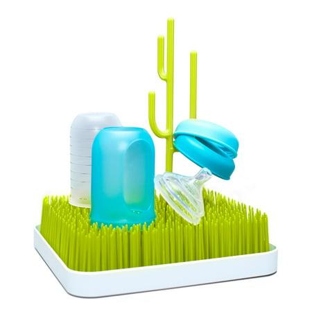 Boon Grass Countertop Drying Rack, Bottle Drying Rack, Green