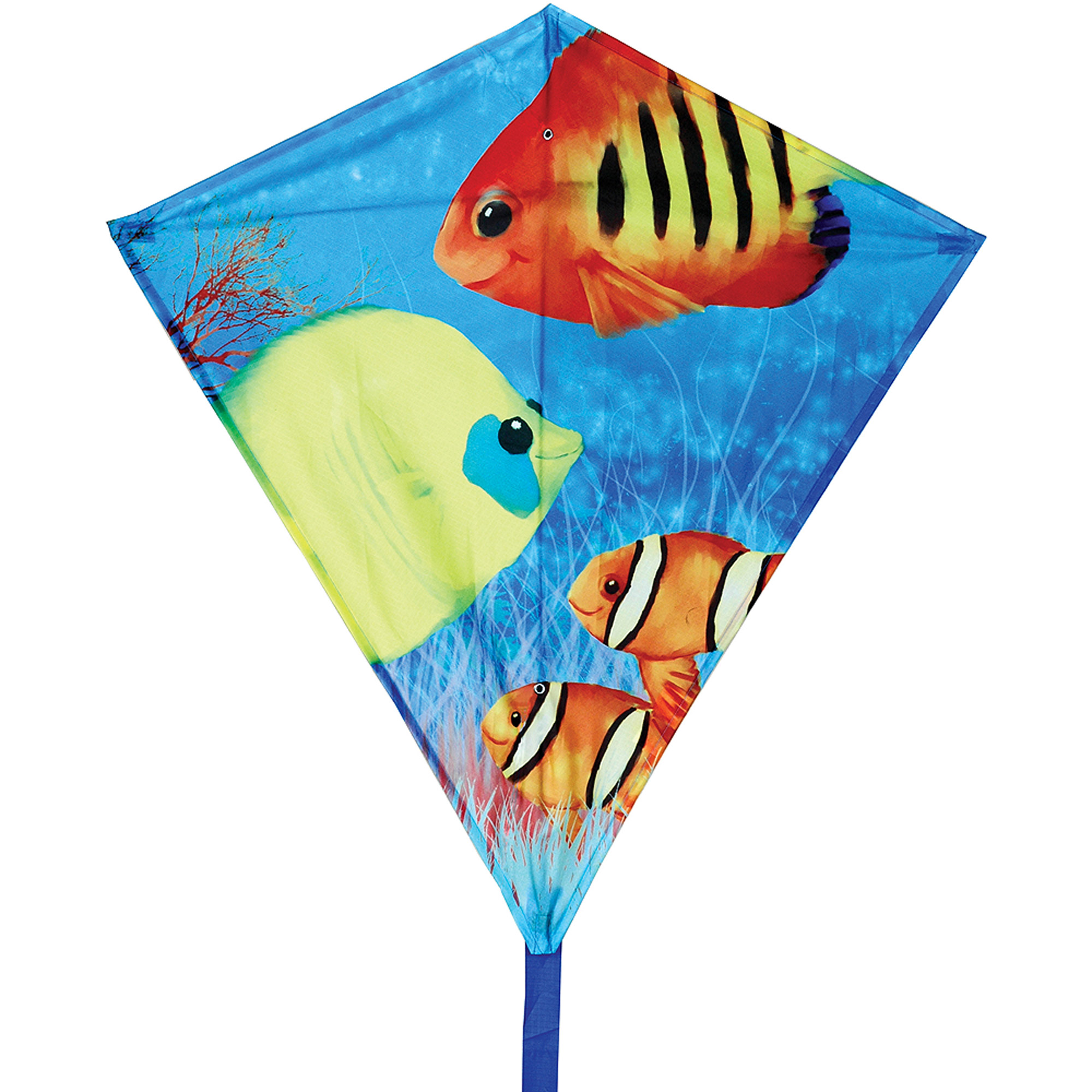 "Premier Designs 30"" Diamond Kite, Fishy Fishes"