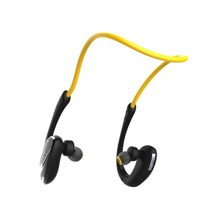 Bluetooth Headphones, Best Wireless Sports Earphones HD Stereo Sweatproof in-Ear Earbuds Gym Running Workout 8 Hour Battery Noise Cancelling