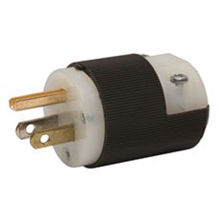 Hubbell Wiring HBL5266C Plug 15 Amp 125 Volt 5-15P (Pack Of 2 ...