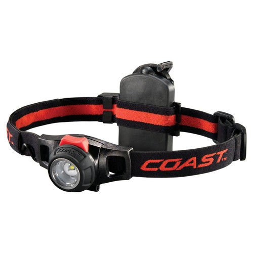 Coast HL7R Rechargeable Focusing LED Headlamp, 150 Lumens