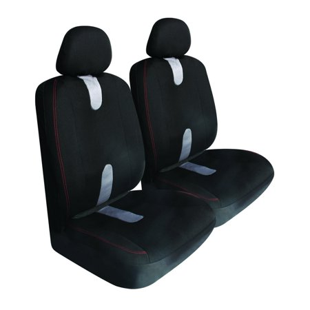 Seat Covers, Low Back Universal Auto Front Honda Accord Seat Cover, Set Of 2 ()