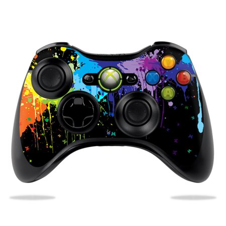 MightySkins Skin For Microsoft Xbox 360 Controller | Protective, Durable, and Unique Vinyl Decal wrap cover | Easy To Apply, Remove, and Change Styles | Made in the USA (Steering Set Xbox360)