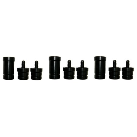 3 Sets of Pool Cue Billiard Stick Joint Protectors 5/16x18 -Joint Caps - 3 Pieces( 3 sets)