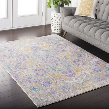 Mistana Fields Blue Purple Area Rug Walmartcom