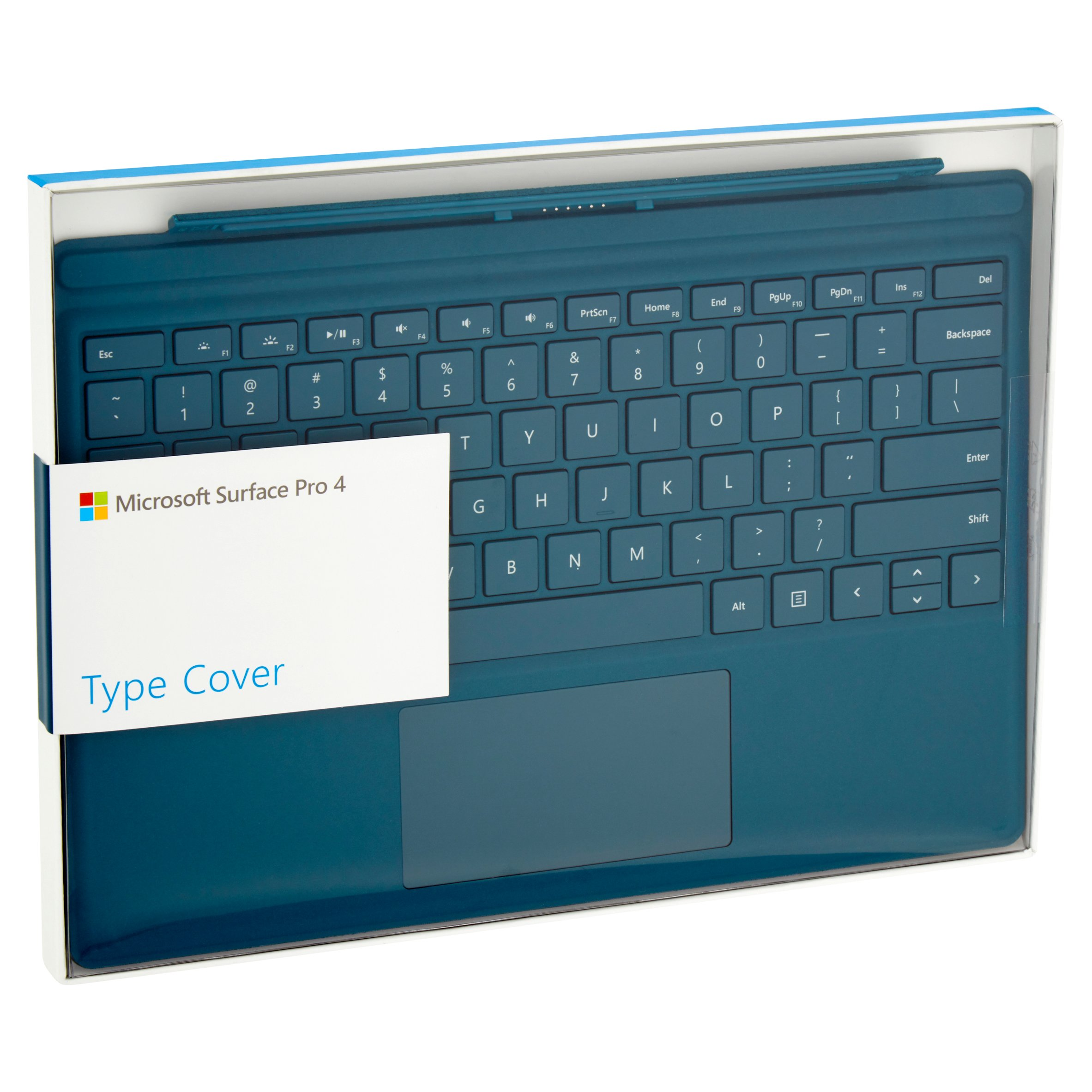 Microsoft Surface Pro 4 Pro 3 Type cover  Backlit Keyboard 1725 QC7-00001