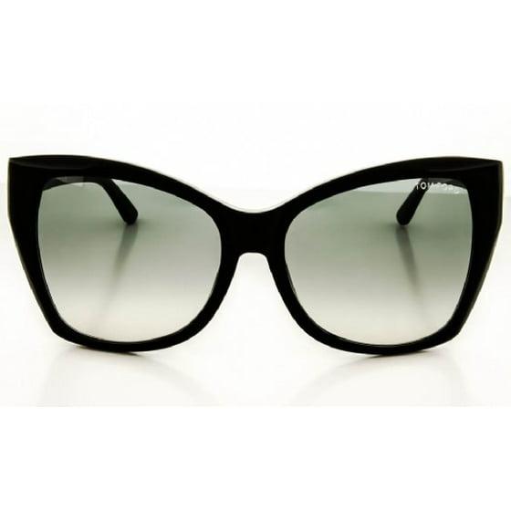 81b0815388f34 Tom Ford - Sunglasses Tom Ford TF 295 FT 01B shiny black   gradient ...