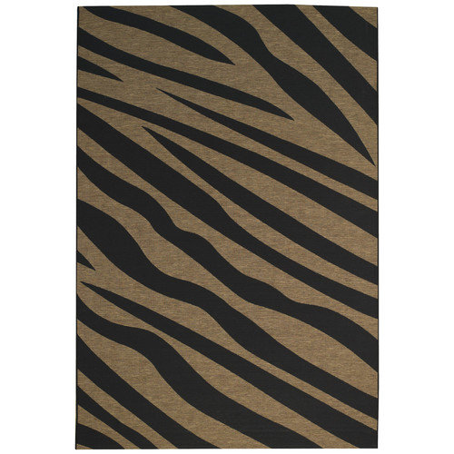 Capel Rugs Adventure Zebra Indoor/Outdoor Rug