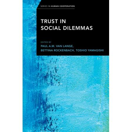 Trust in Social Dilemmas - eBook