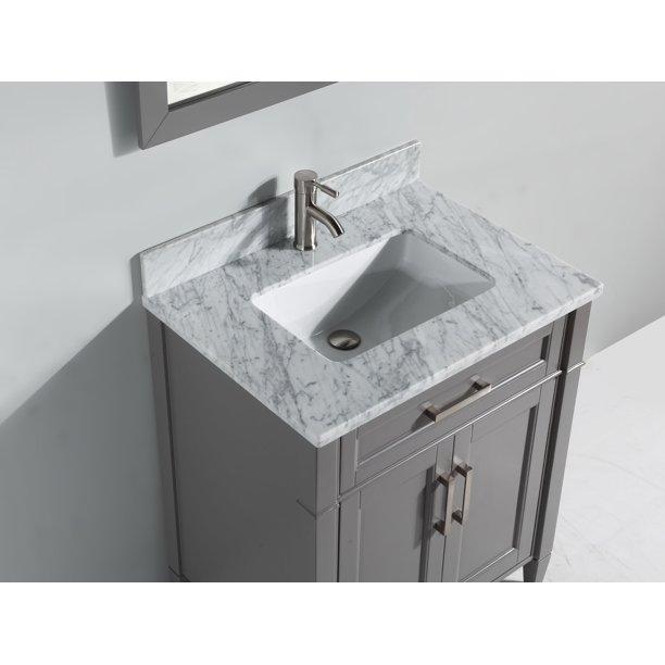 Vanity Art 24 Inch Single Sink Bathroom, 24 Inch Bathroom Vanity With Top And Sink