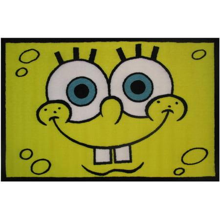 Fun Rugs Nickelodeon  Spongebob Head Kids Rugs 19