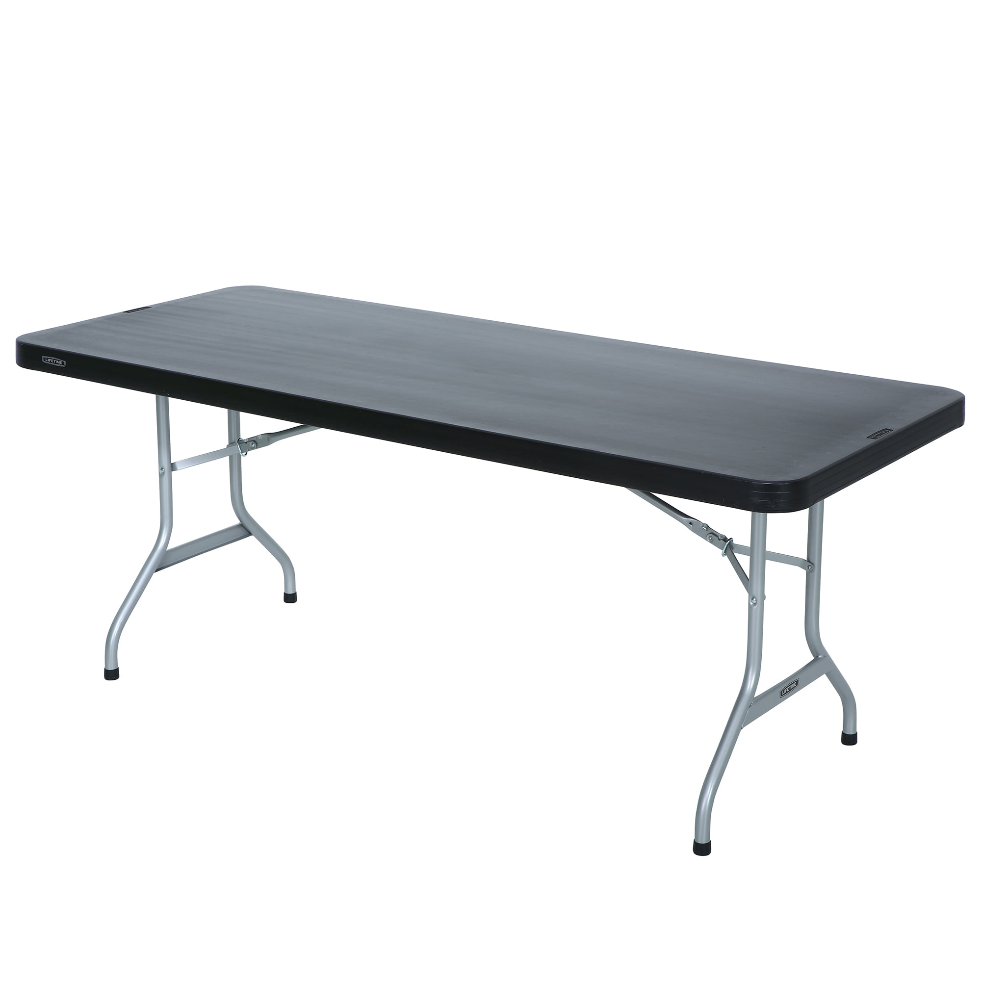 Table Walmart: Lifetime 6-Foot Folding Table, Black