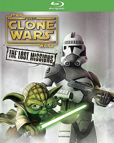 Star Wars Clone Wars: The Lost Missions (Blu-ray) by