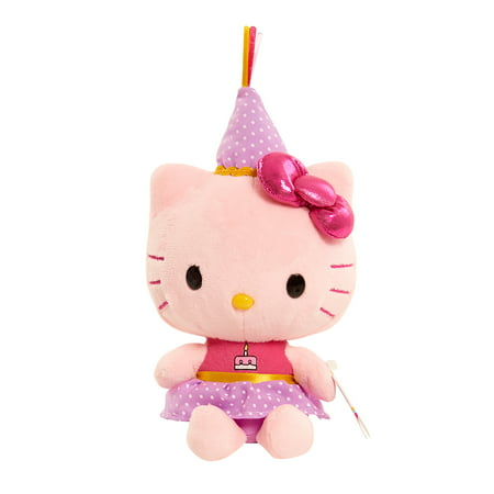 Hello Kitty Bean Plush - Birthday Cake - Hello Kitty Beanie