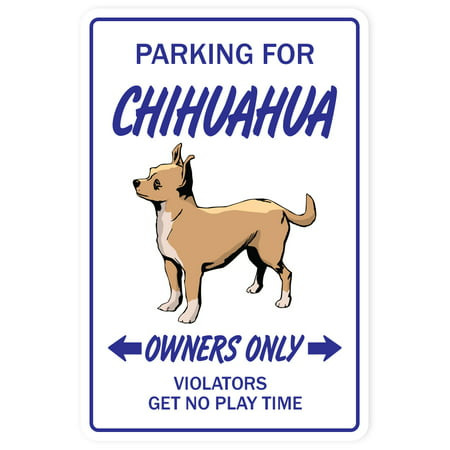 CHIHUAHUA Decal dog pet parking Decals toy puppy vet breeder | Indoor/Outdoor | 5