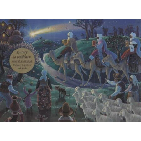 Journey to Bethlehem Advent Calendar The Story in Pictures and Words By Giuliano Lunelli - image 1 of 1