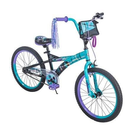 "Huffy 20"" Double Take Girls' Bike, Blue and Black"