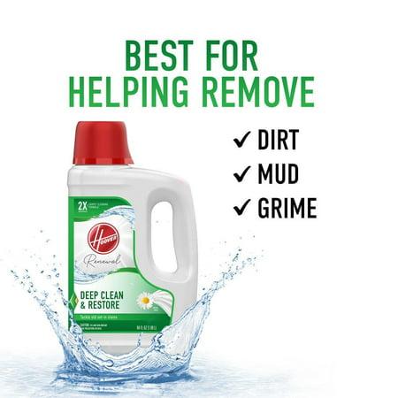 Hoover Revive & Renew Carpet Cleaner Solution, 64Oz, AH30926