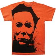 Halloween Horror Slasher Movie Splatter Mask Adult Big Print Subway T-Shirt Tee
