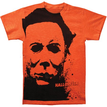 Halloween Men's  Splatter Mask Subway T-shirt - Halloween Splatter Nails