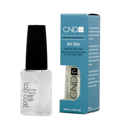 CND 0.33oz Nail Air Dry Fast Set Top Coat Topcoat, AIR DRY, 20408