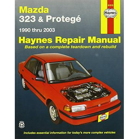 Haynes Manuals 61015 Mazda 323 Proteg?,90-00