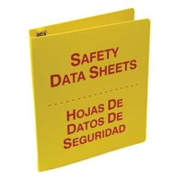 ACCUFORM SBZRS641 Binder,Red/Yellow,10-5/8 in. W,Bilingual