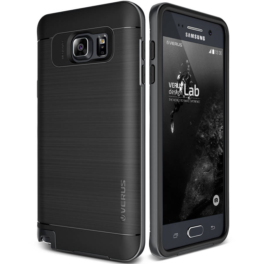 Verus High Pro Shield Shockproof Metallic Rugged Bumper Case for Samsung Galaxy Note 5