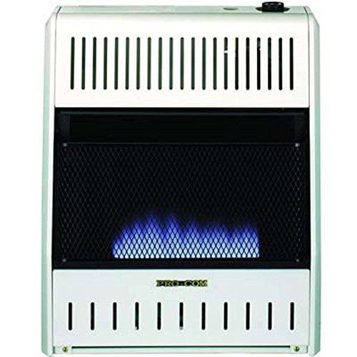 Procom MNSD300TBA-BB Dual Fuel Vent-Free Space Heater