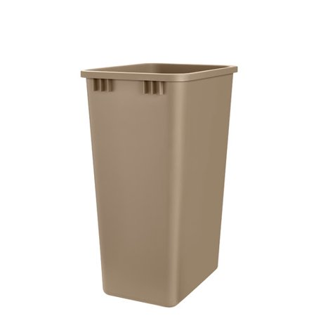 rev a shelf plastic 12 5 gallon trash can. Black Bedroom Furniture Sets. Home Design Ideas