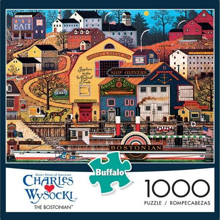 1000-Piece Wysocki: The Bostonian Puzzle - Wysocki Halloween Puzzles