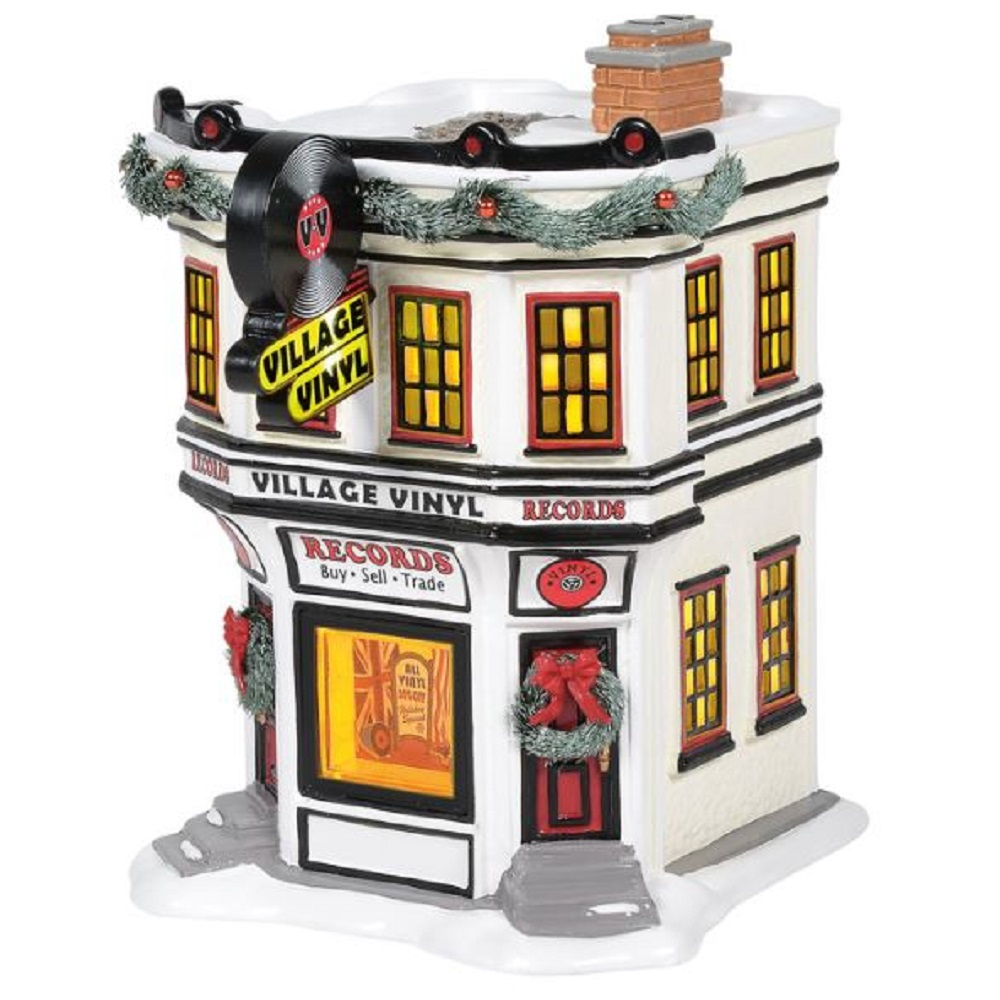 Department 56 Village Vinyl Snow Village Building 6005454