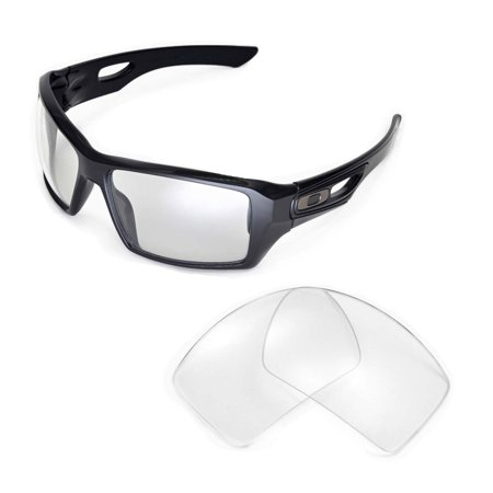 653468a358c Walleva - Walleva Clear Replacement Lenses for Oakley Eyepatch 2 Sunglasses  - Walmart.com