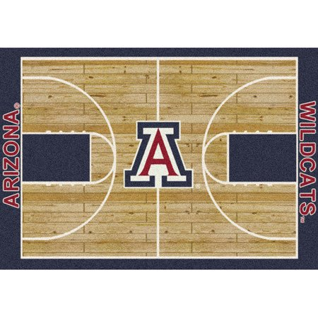 Milliken Ncaa College Home Court Area Rugs   Contemporary 01111 Ncaa College Basketball Sports Novelty Rug