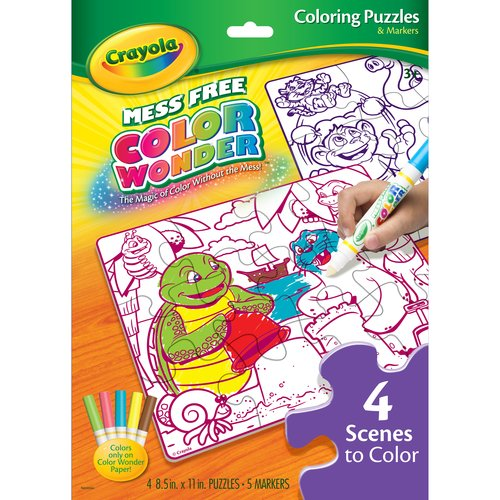 Crayola Color Wonder Double Sided Puzzle
