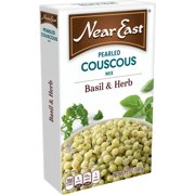 (12 Pack) Near East Basil & Herb Pearled Couscous Mix, 0.31 lb