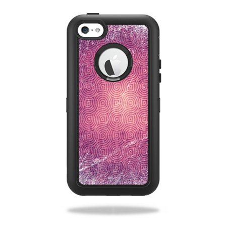 Mightyskins Protective Vinyl Skin Decal Cover for OtterBox Defender iPhone 5C Case wrap sticker skins Purple - Purple Swirl