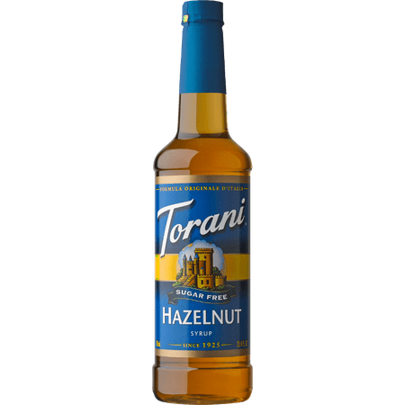 (Torani Sugar Free Hazelnut Syrup 750ml)