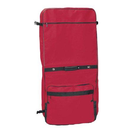 DELUXE RED GARMENT BAG -