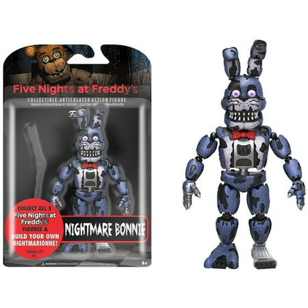 FUNKO ARTICULATED ACTION FIGURE: FIVE NIGHTS AT FREDDY'S - NM BONNIE 5 (Halloween At Freddy's Tryhardninja)