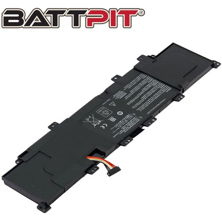 BattPit: Laptop Battery Replacement for Asus VivoBook S400CA-CA040H, C31-X402, VivoBook S300, VivoBook S400, VivoBook X402 (11.1V 4000mAh 44Wh) - image 1 of 1