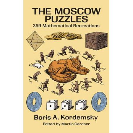 Dover Recreational Math: The Moscow Puzzles (Paperback) - Halloween Math Puzzle High School