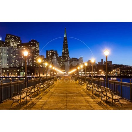 Pier 7 in San Francisco Print Wall Art By nstanev ()