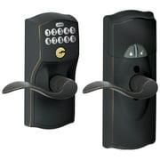 Schlage Fe599nxcam-Acc Home Keypad Lever - Bronze
