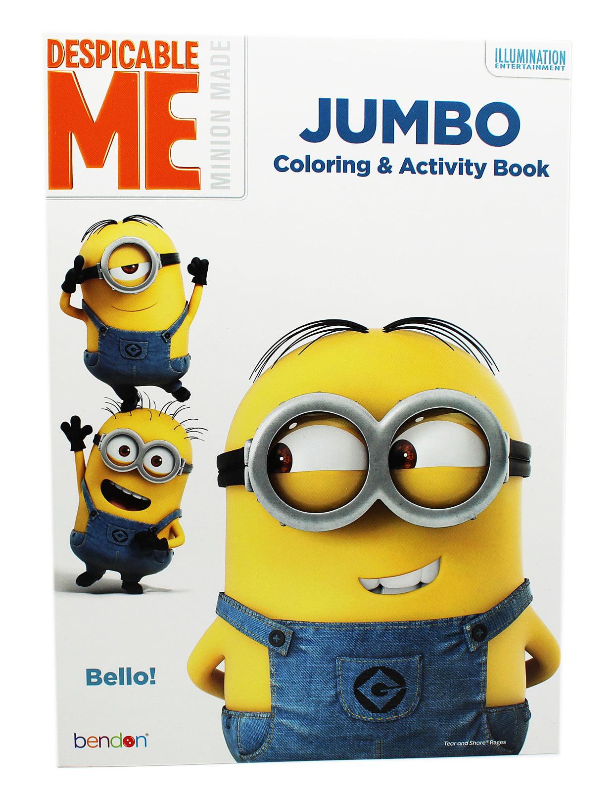 Despicable Me Minion Made Jumbo Coloring And Activity Book - Walmart.com -  Walmart.com