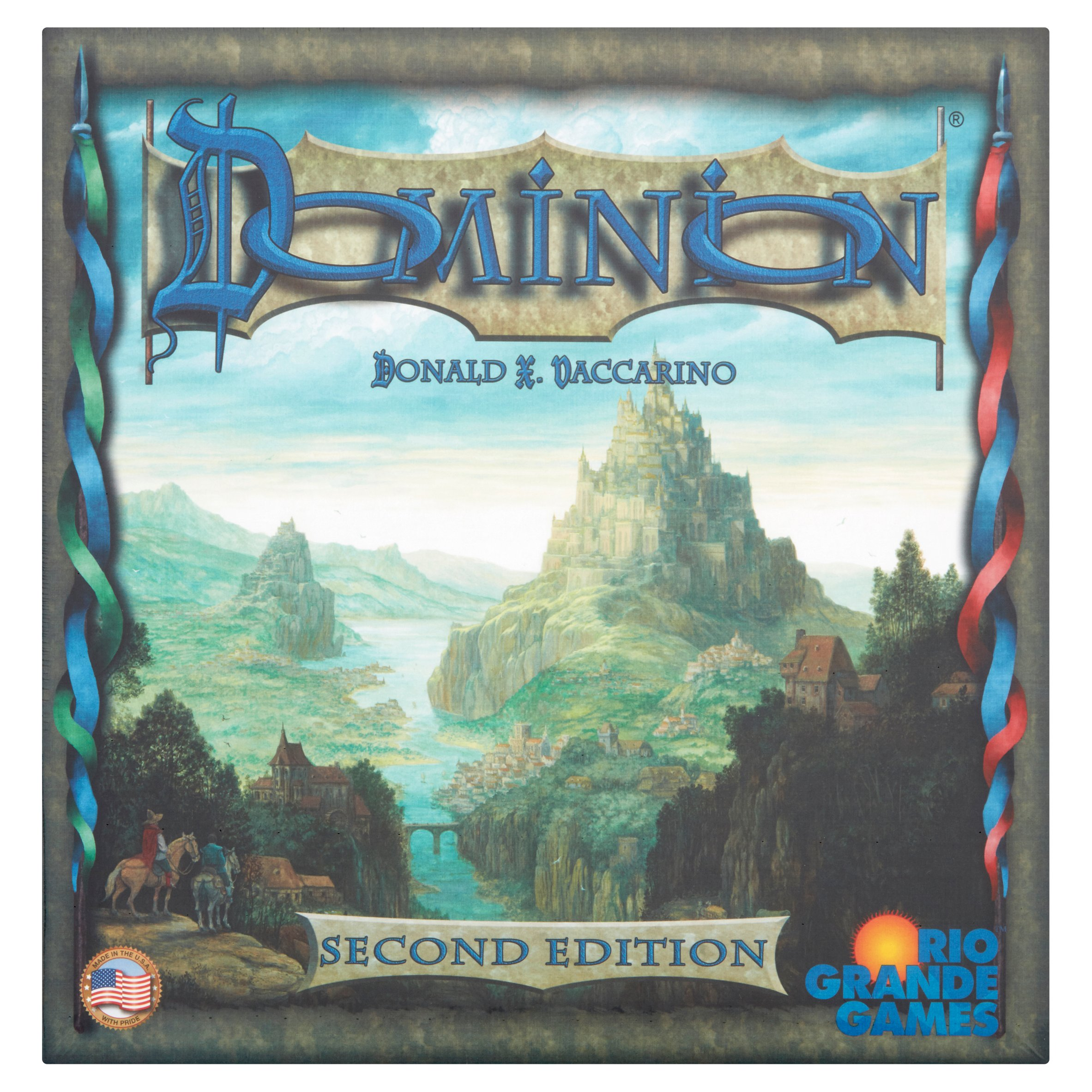 Rio Grande Games Second Edition Dominion Games 14+ by Rio Grande Games