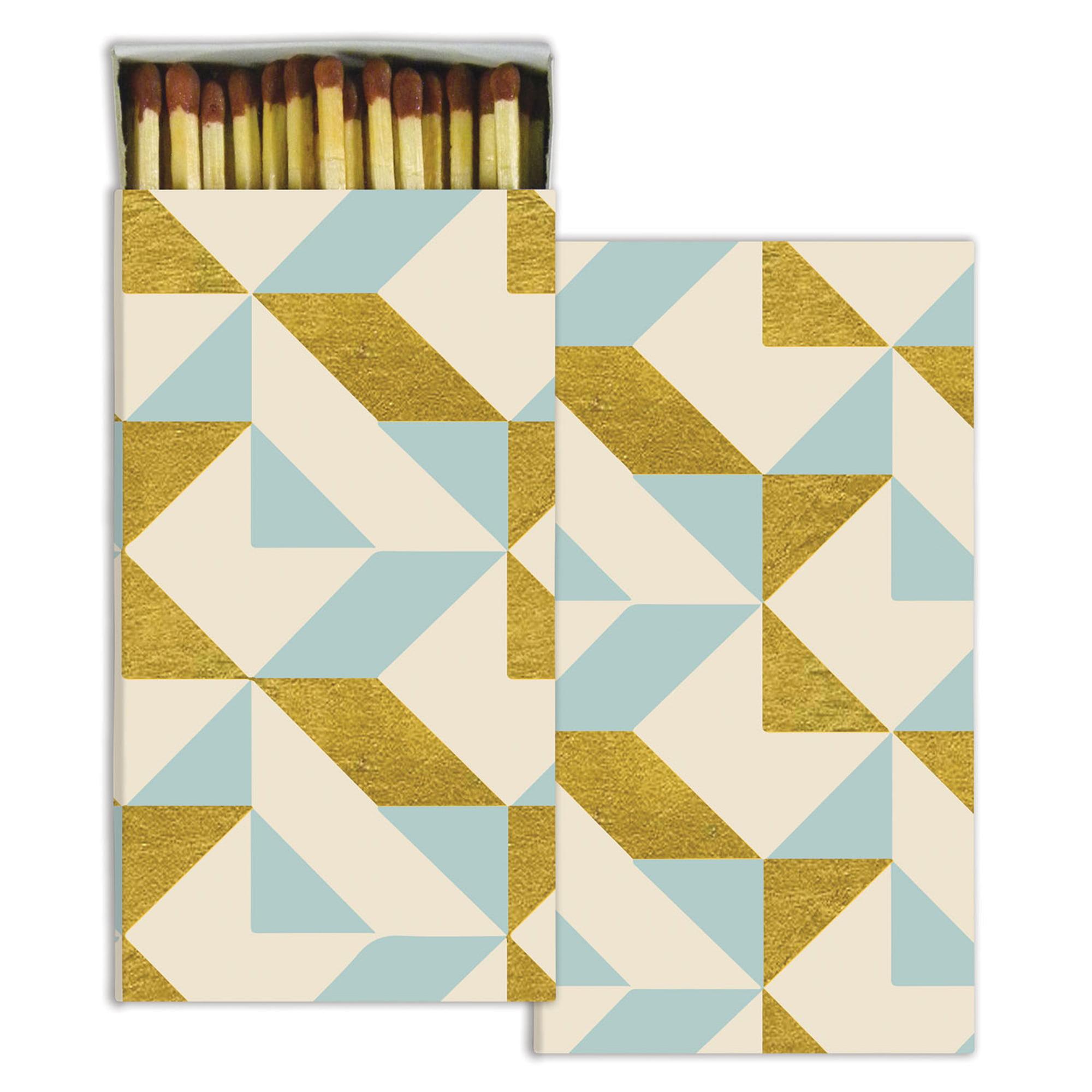 HomArt - Match Box Set of 2 - Colette Graphic - Gold Foil
